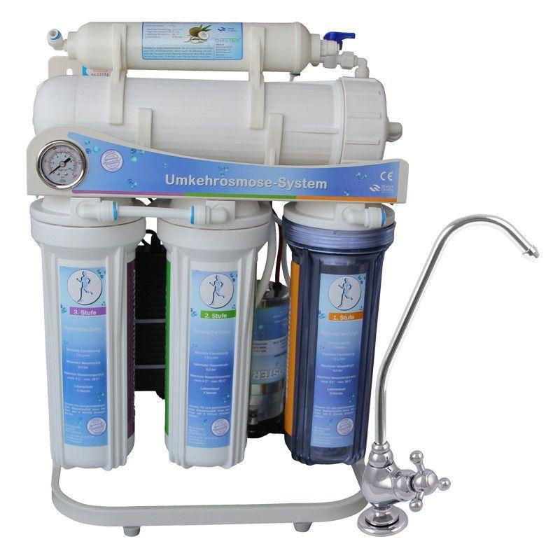 Ultimate Plus Umkehrosmose Wasserfilter 400GD 5Stufen Directflow