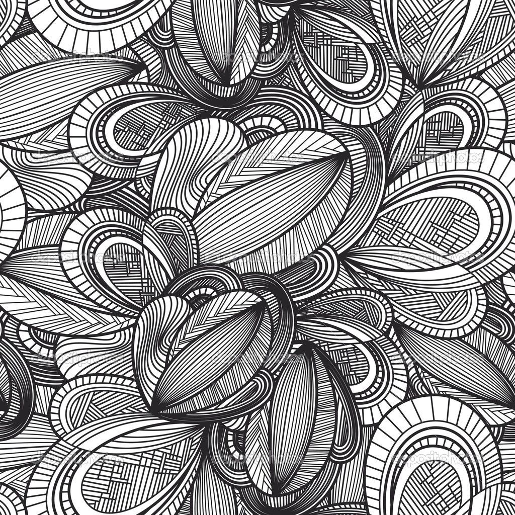 Geometric Illustrations | Paintings | Doodle patterns