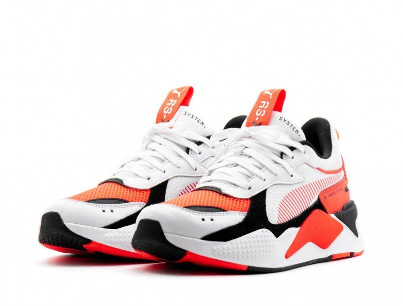 Puma RS-X Reinvention white fluor red | Chaussures vans ...
