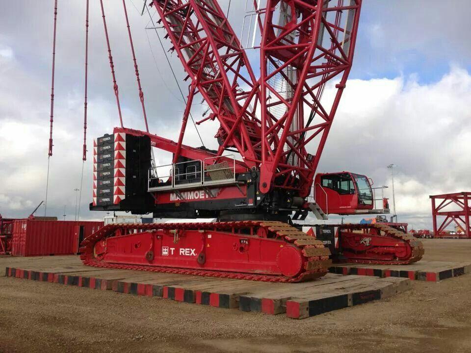 Mammoet Terex Demag 3800 Crawler Biggest Of The Big ⚠️