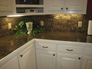 Tropic Brown Granite Backsplash Ideas Counter Tropic Brown Granite Tile Backsplash Dark