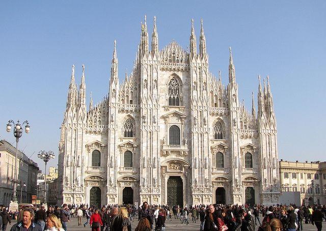 Katedrála v Milánu, Itálie
