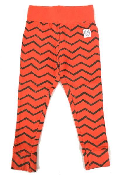 Rode zigzag legging - Indikidual
