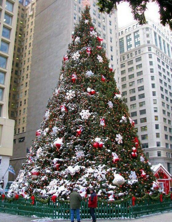 Huge tree Christmas theme Pinterest Christmas themes