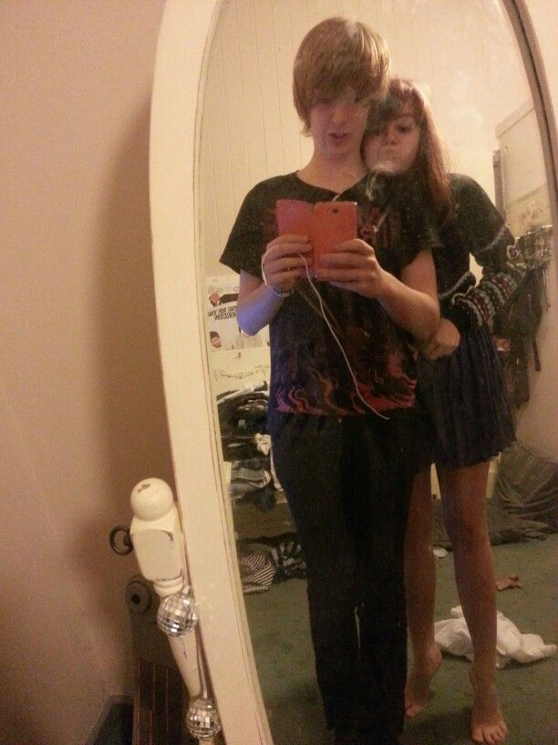 Silly face with my girlfriend <3