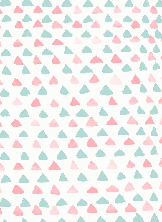 pastel triangles 2   Georgiana Paraschiv