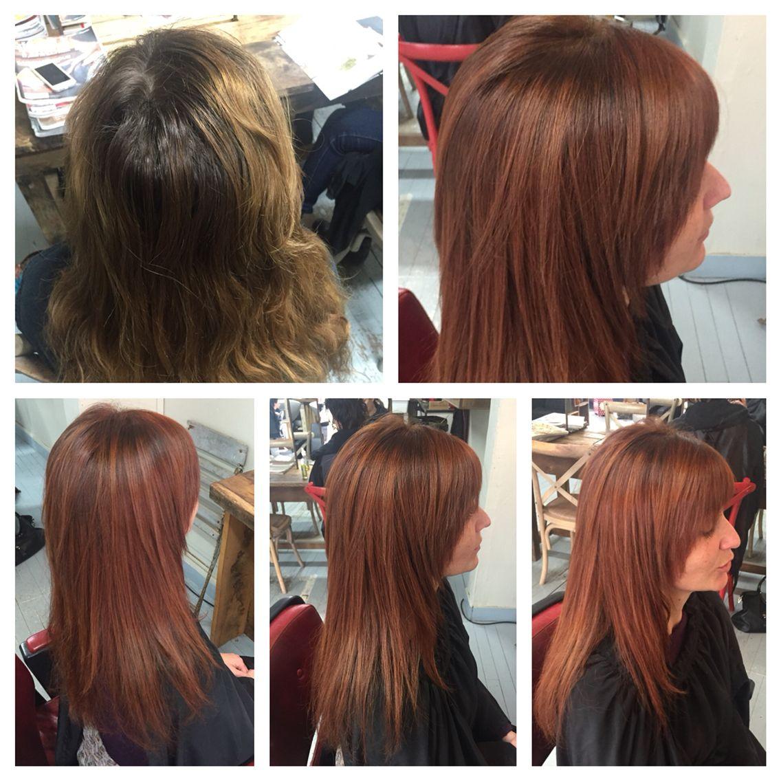 Teinture de cheveux vegetale