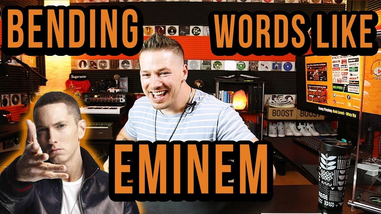 How to bend rhymes like eminem and be a rap god https
