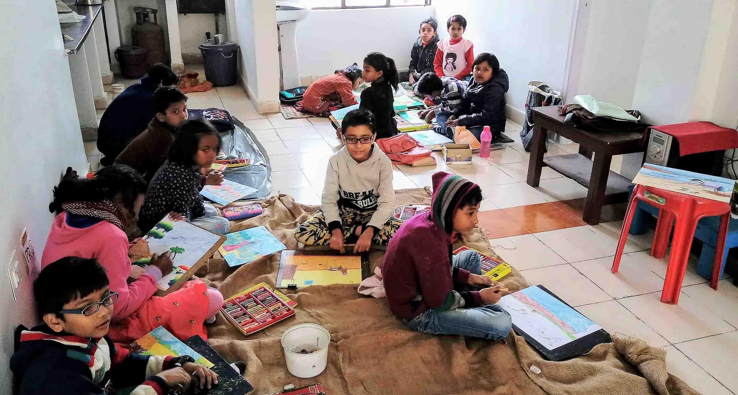 Drawing Classes In Budge Budge Art School In Kolkata Art