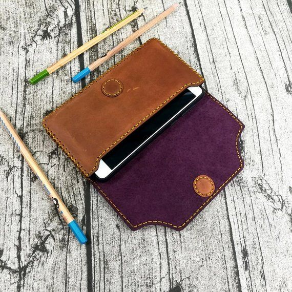 Personalized Leather belt pouch, Leather pouch, Leather Hip pouch, Belt Pouch, Men Pouch, Mens Gift, Leather CellPhone Case