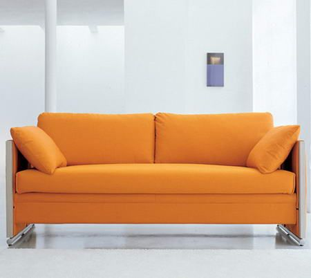 an orange couch - Orange Couch