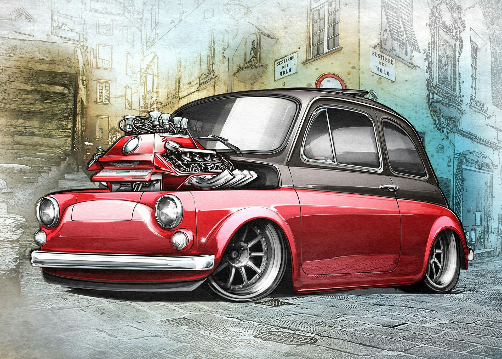 Pin by Vasilios Aivazoglou on C Tuning Car Style Art