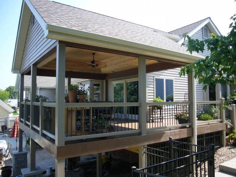 Astounding Roof Deck Design Deck With Roof Plans Architecture This Is A Classic Covered Deck Plans Free Is Uniq Patio Design Covered Deck Designs Covered Decks