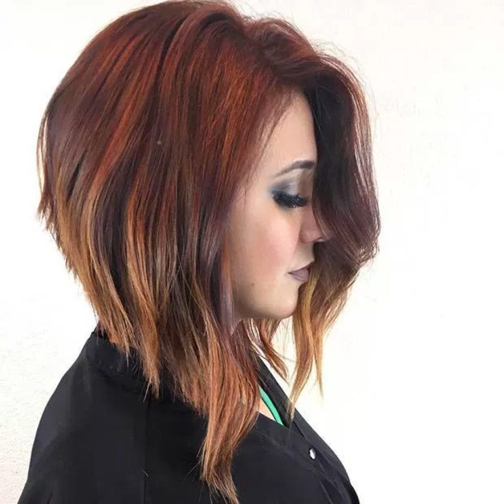 If thereus one sassy look itus the angled bob not only is the