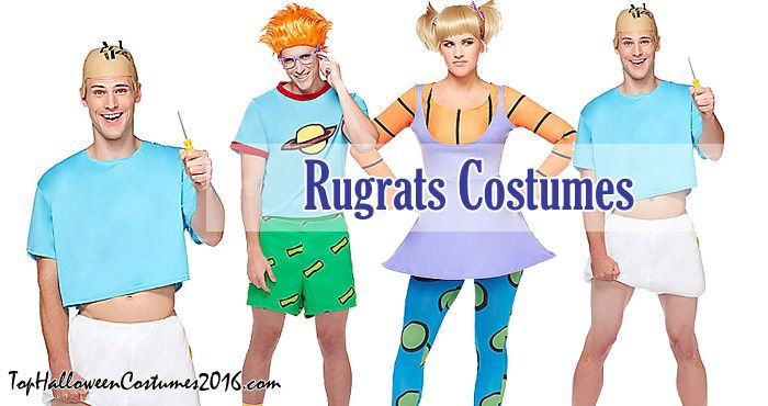 Rugrats Halloween Costumes: Angelica, Tommy, Chuckie | Top ...