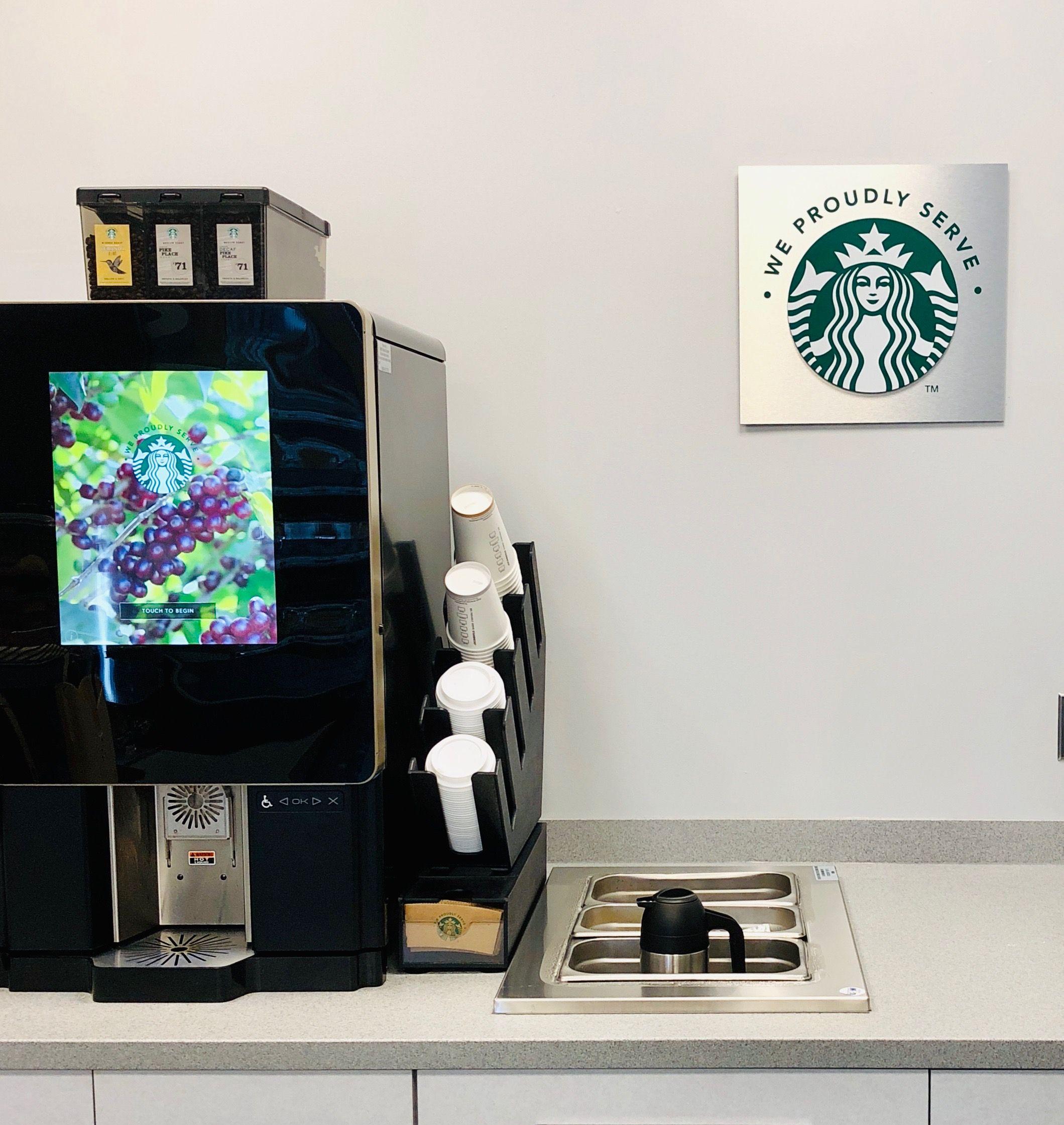New Starbucks Serenade Machine
