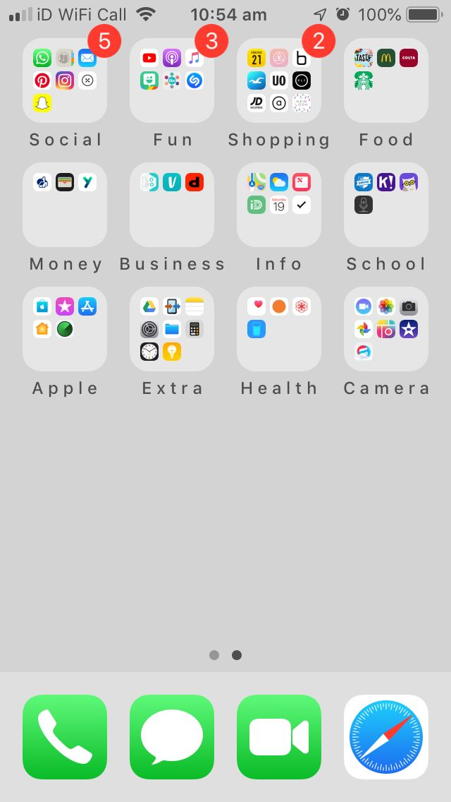 This is literally the most satisfying phone layout