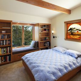 Boys Bedroom Built In Shelves Design Ideas, Pictures, Remodel, and Decor - page 7