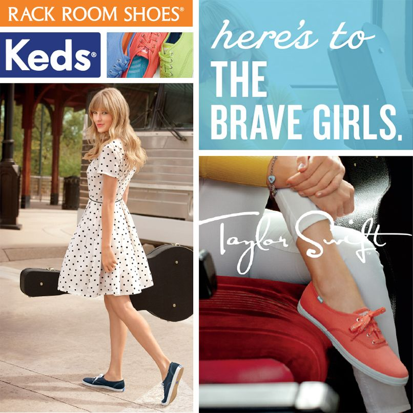We've got three exclusive Taylor Swift Swag Bags to give away! Win Keds shoes, Taylor Swift jewelry and more in our Keds Brave Girl Sweepstakes!
