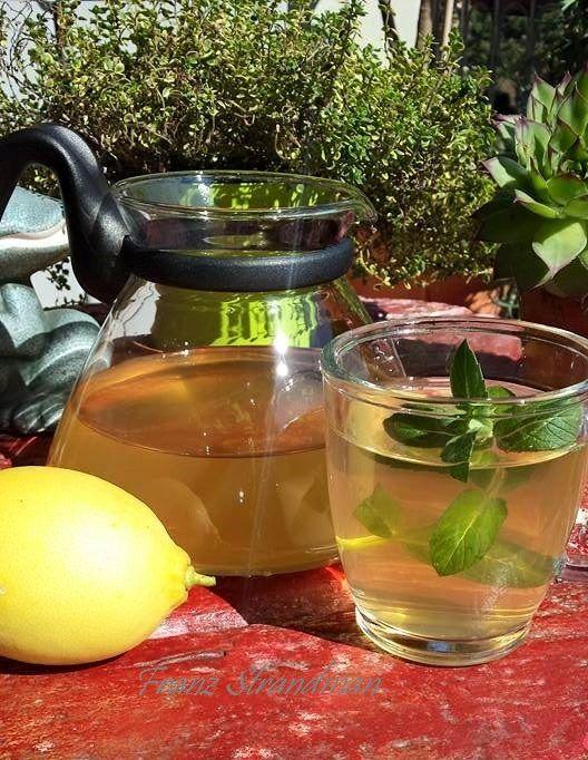 tè verde con zenzero e miele per dimagrire