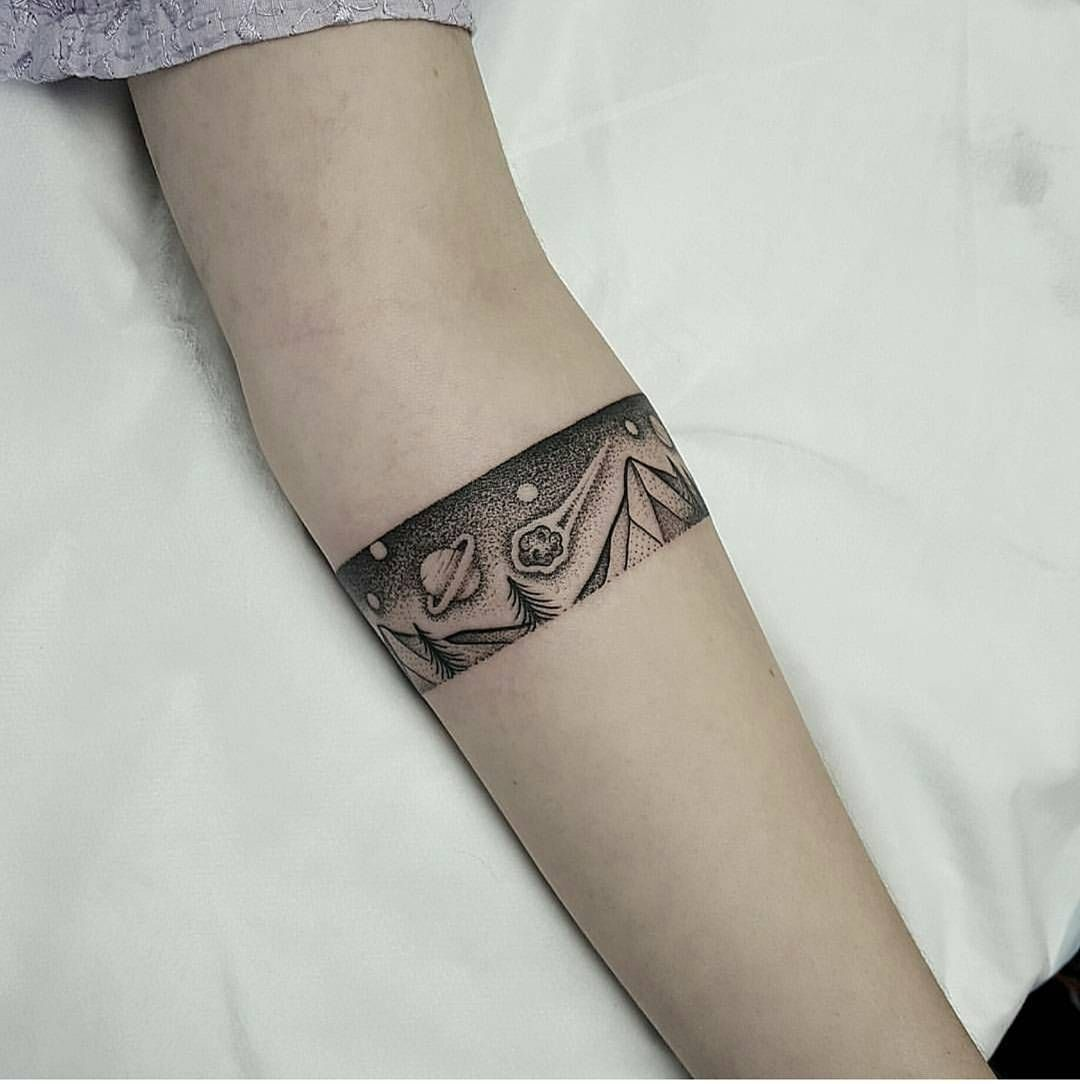 Armband Tattoo 93 Arm Band Tattoo Planet Tattoos