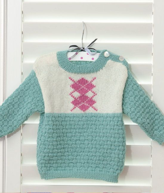 Fiona Frog Sweater by Heather Granger in Patons Diploma Gold 4 Ply ...