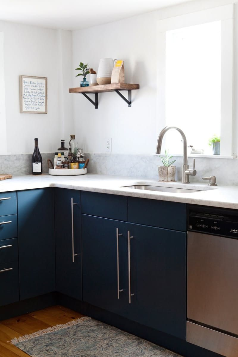 And The Kitchen Cabinet Color Winner Is…   Kitchens, Benjamin moore ...