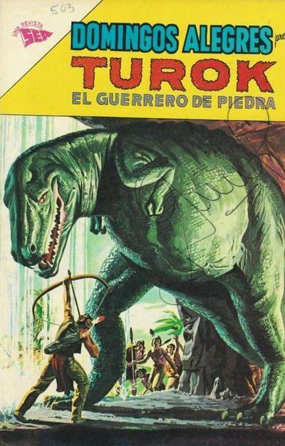 Cover for Domingos Alegres (Editorial Novaro, 1954 series) #503
