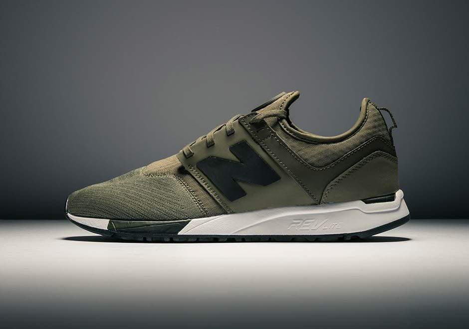 The Olive & Black New Balance NB 247 Is On Sale Now