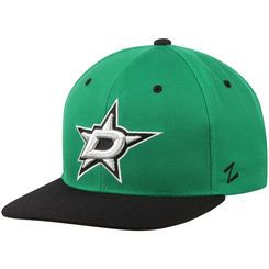 Men's Dallas Stars Zephyr Kelly Green/Black Z11 Snapback Adjustable Hat