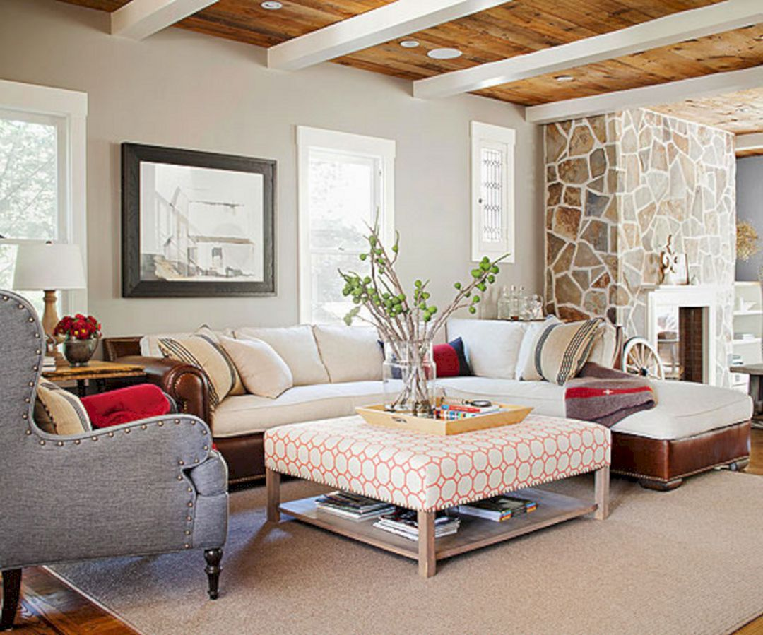 35+ Incredible Cabin Ideas For Cool Living Room Design | Cabin ...