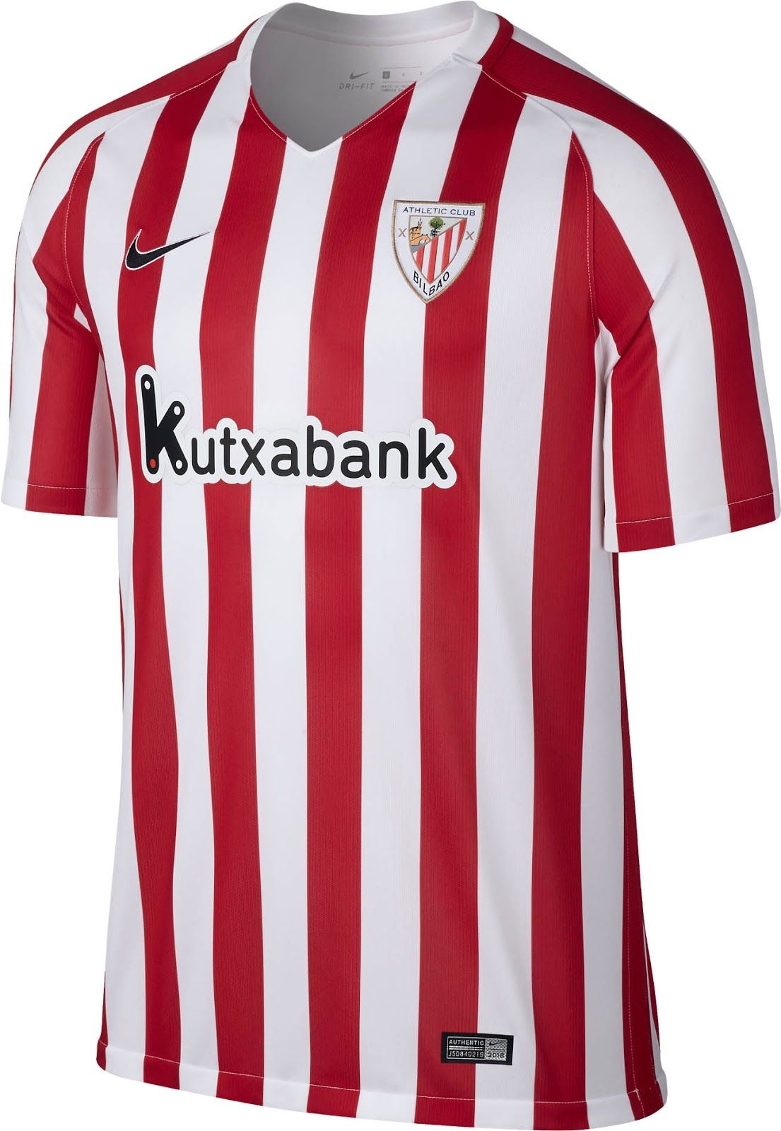 24b5b0077 Athletic Club Bilbao (Spain) - 2016 2017 Nike Home Shirt