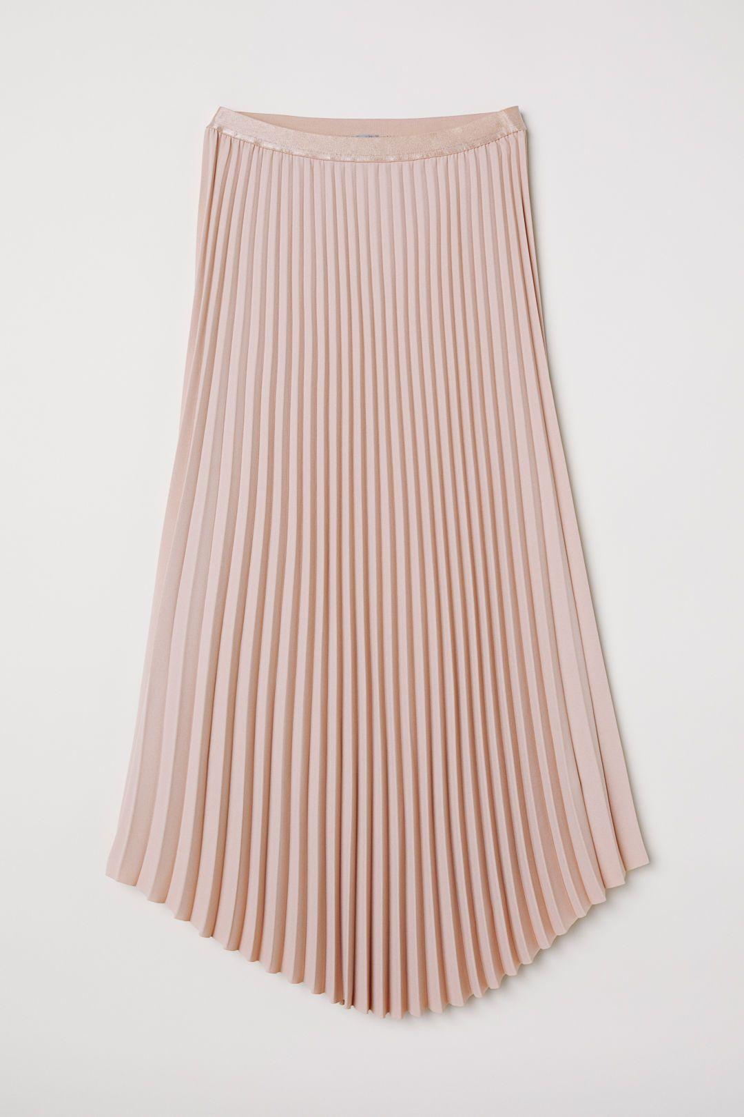 H&m pink pleated dress  Pleated Skirt  HuM  Pinterest  Skirts Pleated Skirt and Dressy