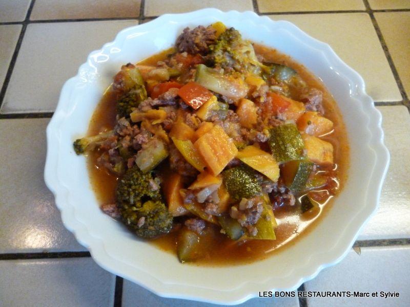Biftecks hachés aux légumes!