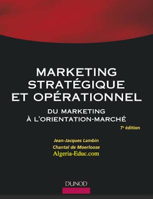 La Faculte Telecharger Livre Marketing Strategique Et Operationnel Pdf Book Marketing Marketing Professional Development