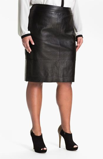 Sejour Leather Skirt