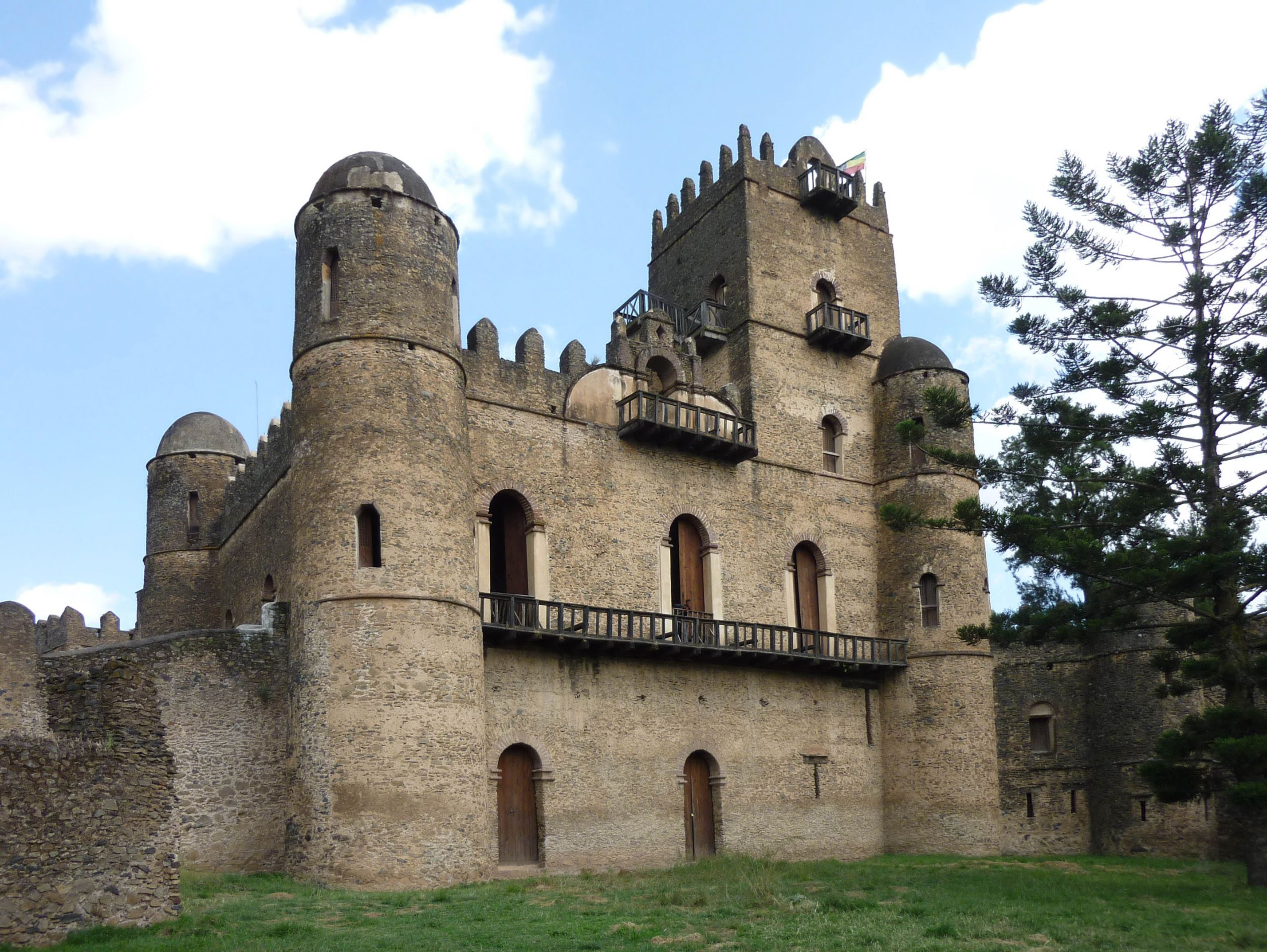 royal palaces gondar - google search | traditional african design