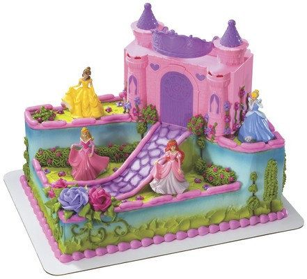 Disney Princess Signature Cake kit Topper Birthday Party Supplies