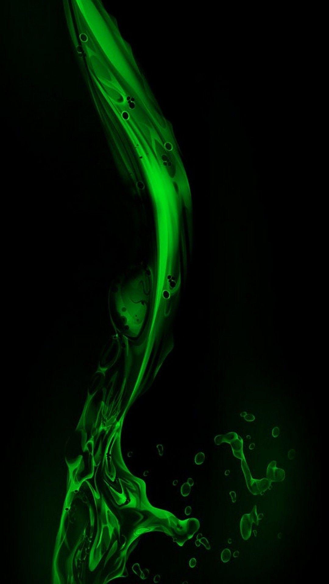 Green Liquid Wallpaper Iphone Iphone Wallpaper Computer