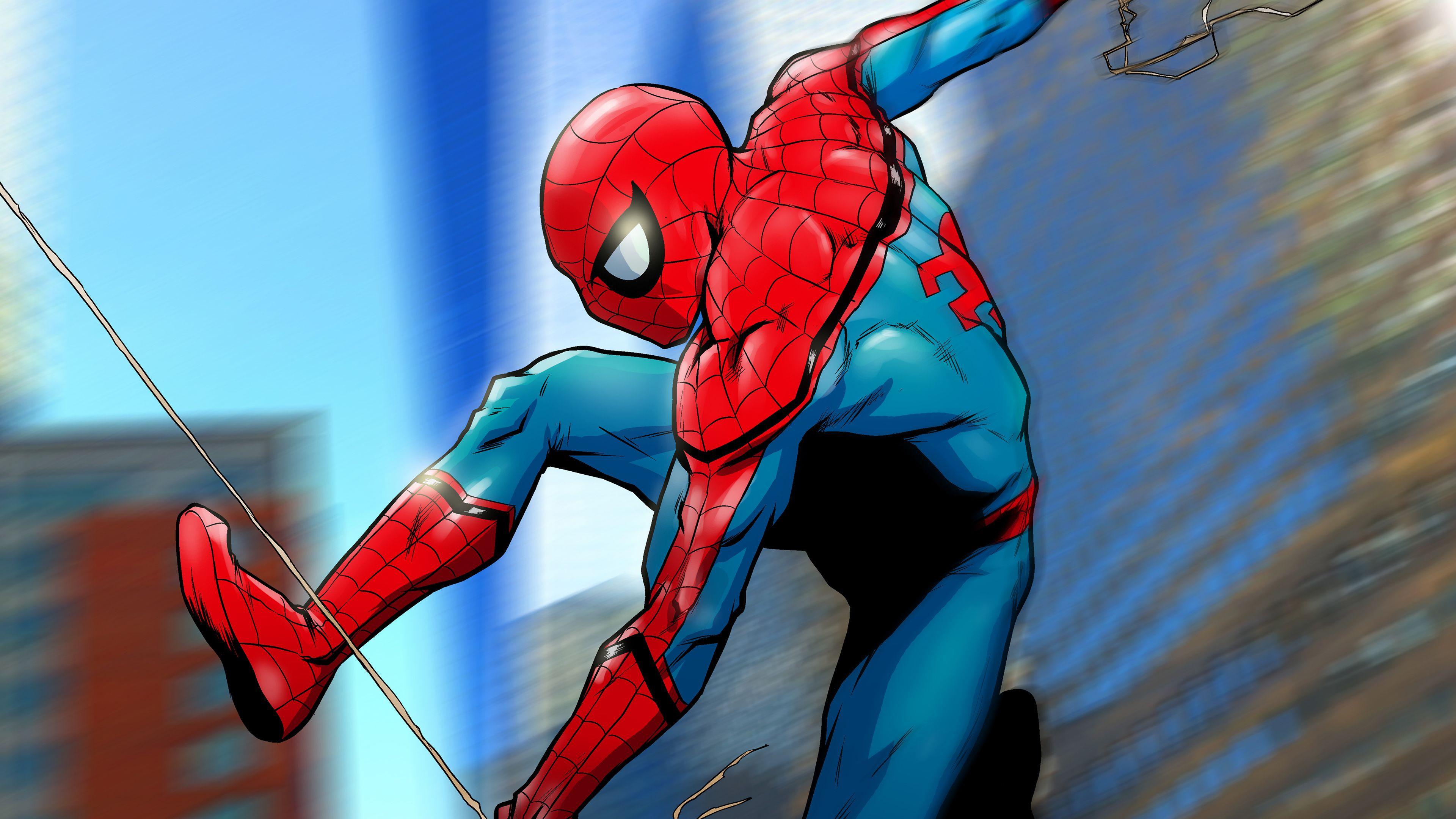 Spiderman Artwork 4k Superheroes Wallpapers Spiderman Wallpapers Hd Wallpapers Digital Art Wallpaper Spiderman Artwork Watercolor Wallpaper Iphone Spiderman