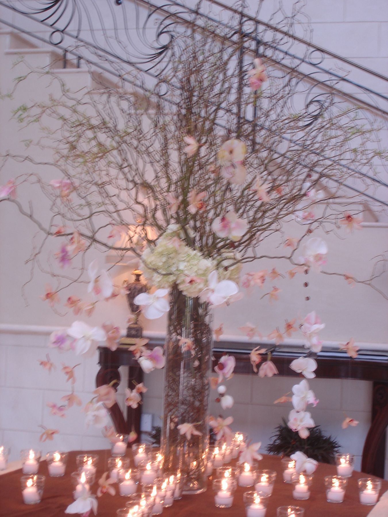Pin By Curious Country Creations Com On Curly Willow Centerpieces Hydrangea Flower Arrangements Curly Willow Centerpieces Flower Arrangements