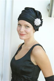 Evening Head Wear For Those Without Much Hair Hair Loss Hats Chemo Headwear Lost Hair