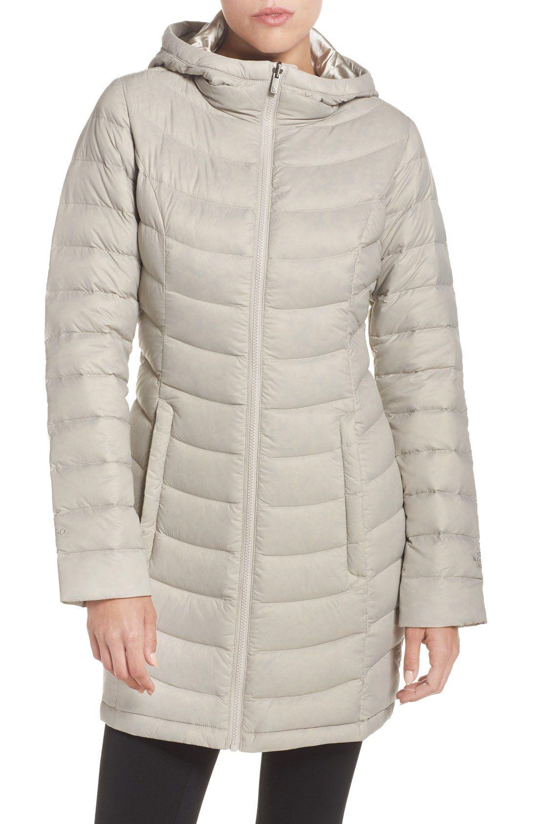 'Jenae' Hooded Down Jacket