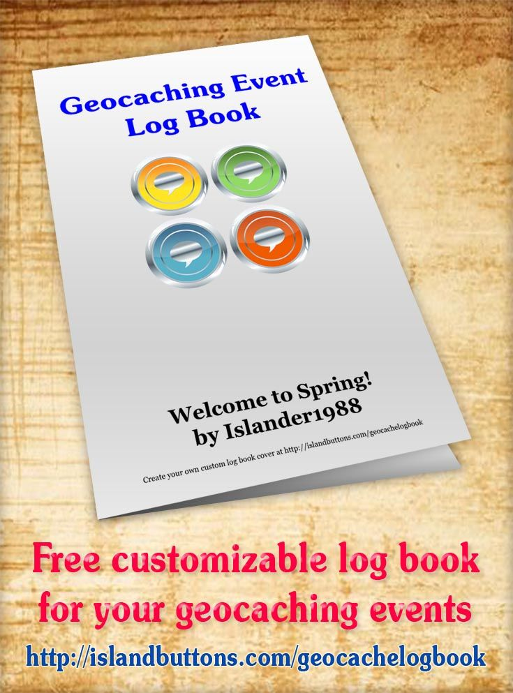 It's just an image of Magic Official Geocache Printable