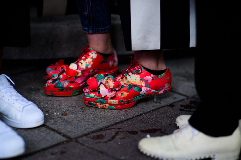 promo code 7d508 3d7e1 ... Floral footwear .