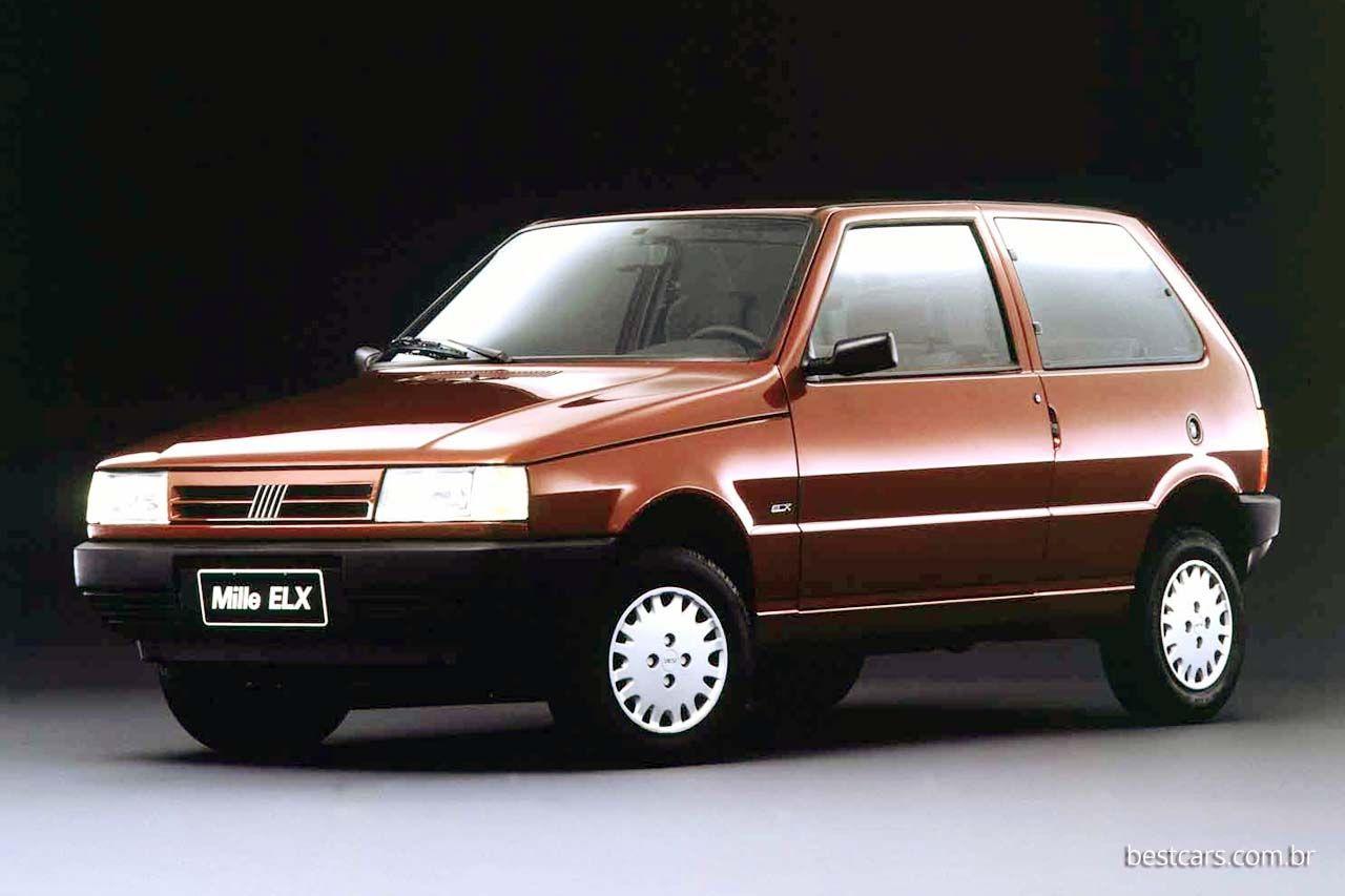 Uno Mille Elx 1 0 1994 Com Imagens Fiat Uno Carros Da Fiat