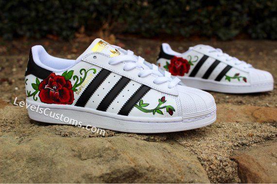 05a6f35d01b4 Rose Custom Adidas in 2019