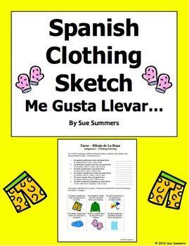 Months In Spanish Worksheet