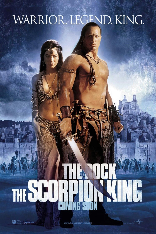 The Scorpion King Movie Poster Fantastic Movie Posters Scifi Movie Posters Horror Movie Posters Action Movie Post Kings Movie The Rock Dwayne Johnson Movies