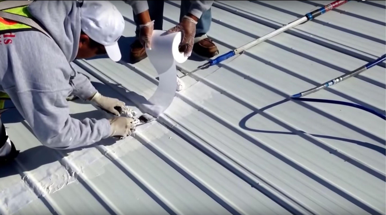 Sherwin Williams Uniflex Elastomeric Roof Coating In 2020 Elastomeric Roof Coating Roof Coating Roof